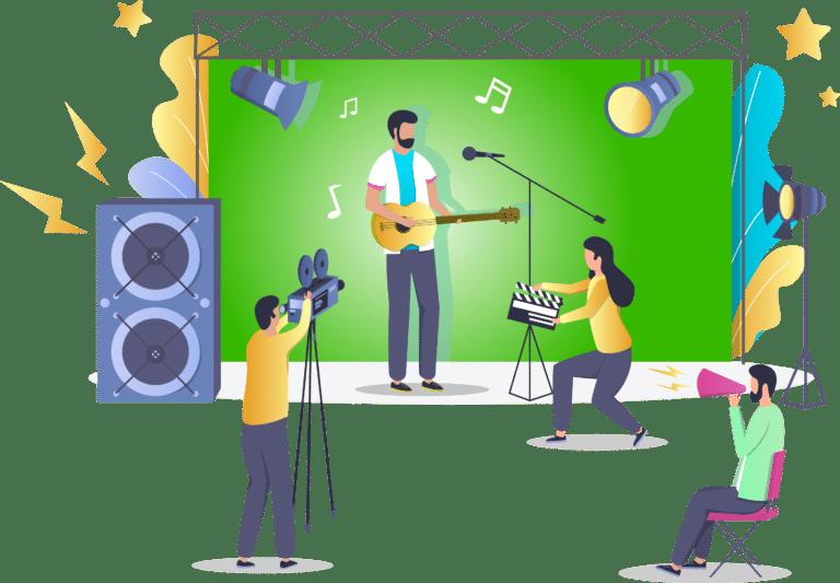 Musikvideo Produktion Köln